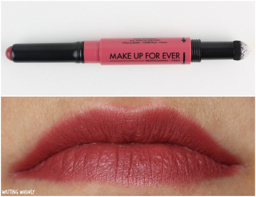 MAKE UP FOR EVER Pro Sculpting Lip in 11 Rust Review 2