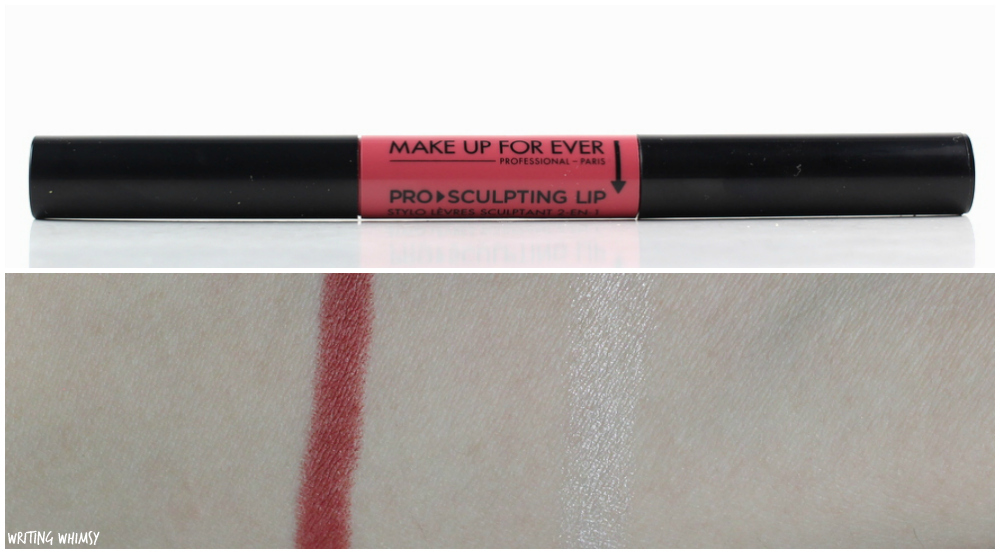MAKE UP FOR EVER Pro Sculpting Lip in 11 Rust Review