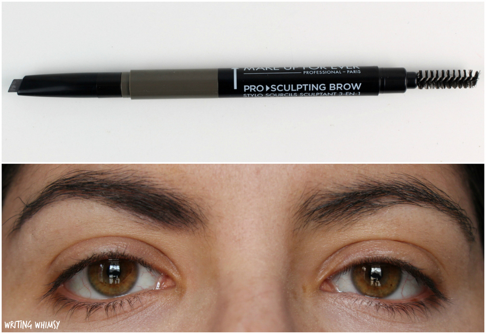 Make Up For Ever Pro Sculpting Brow 3-in-1 Pen in 50 Brown Black Review 2