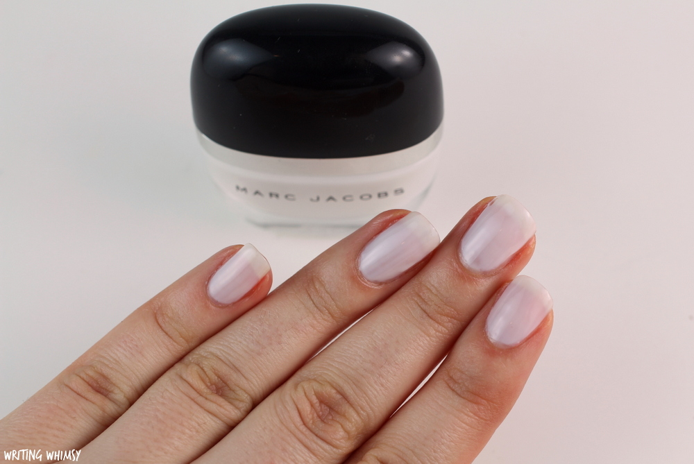 Marc Jacobs Beauty Enamored Hi-Shine Nail Polish in White Snow Swatch 2