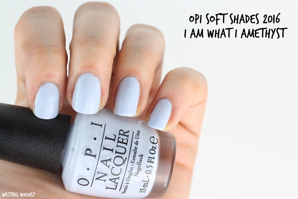 OPI Soft Shades OPI I Am What I Amethyst Swatch