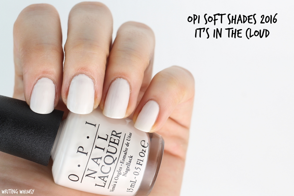 OPI Soft Shades OPI It's in The Cloud Swatch