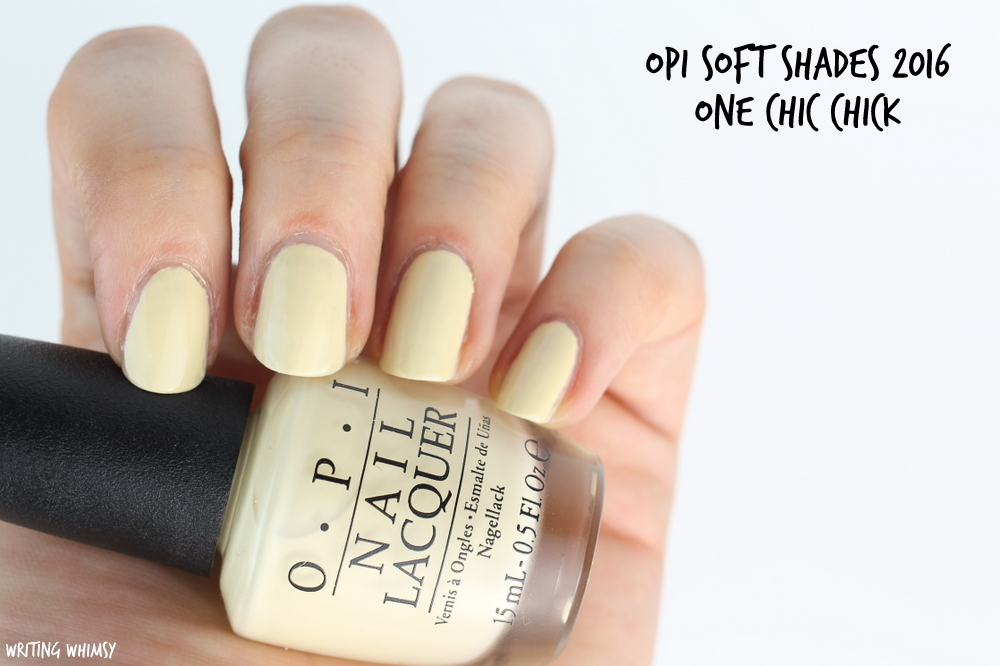 OPI Soft Shades OPI One Chic Chick Swatch