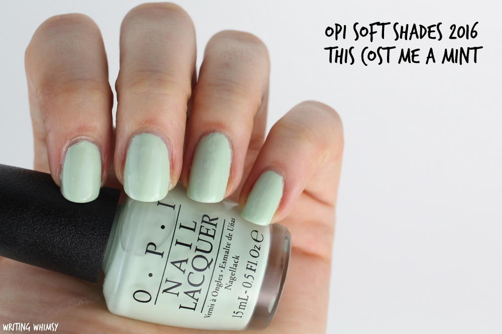 OPI Soft Shades OPI This Cost Me A Mint Swatch