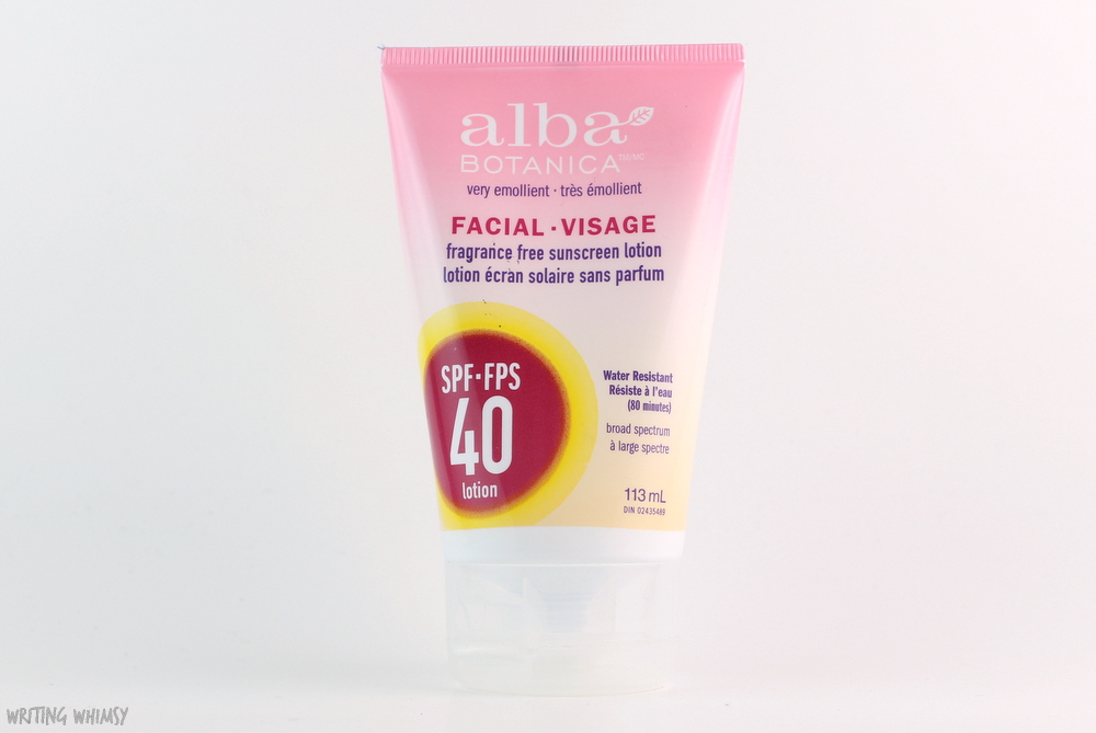 Alba Botanica Facial Sunscreen