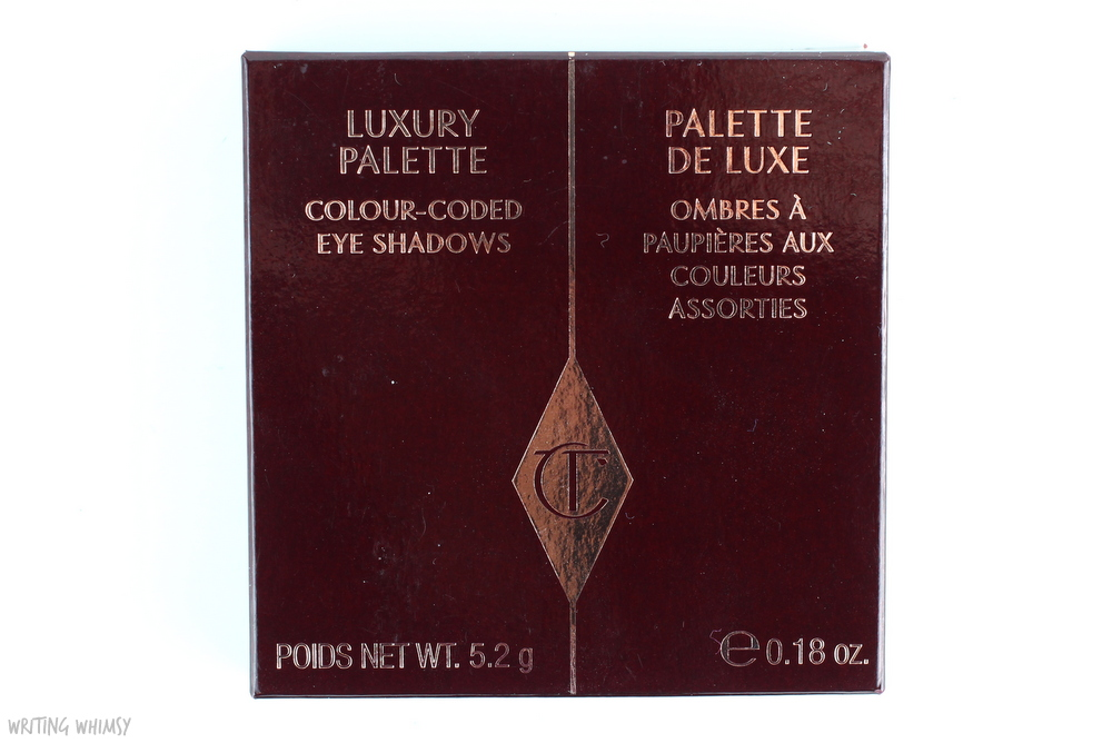 Charlotte Tilbury Vintage Vamp Eyeshadow Quad Review 3