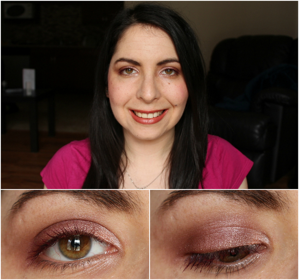 Charlotte Tilbury Vintage Vamp Eyeshadow Quad Swatches and Review