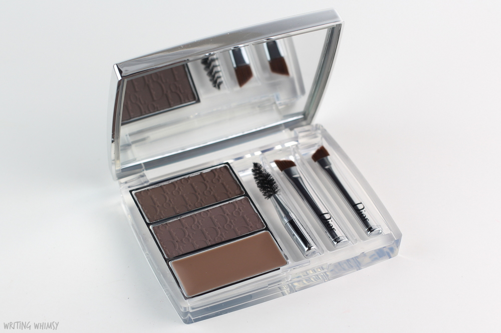 Dior Diorshow All-in-Brow 3D Palette in Brown Review and Swatches 3