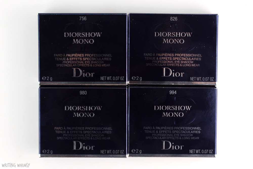 Dior Diorshow Mono in 826 Backstage Review and Swatch