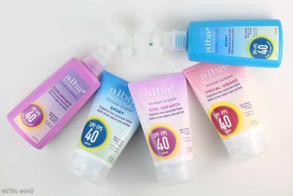 Get Ready for Summer with Alba Botanica Sunscreens