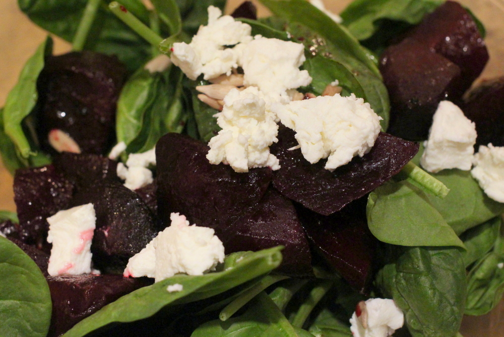 Gluten-Free Recipe Roasted Beet and Goat Cheese Salad Recipe 11