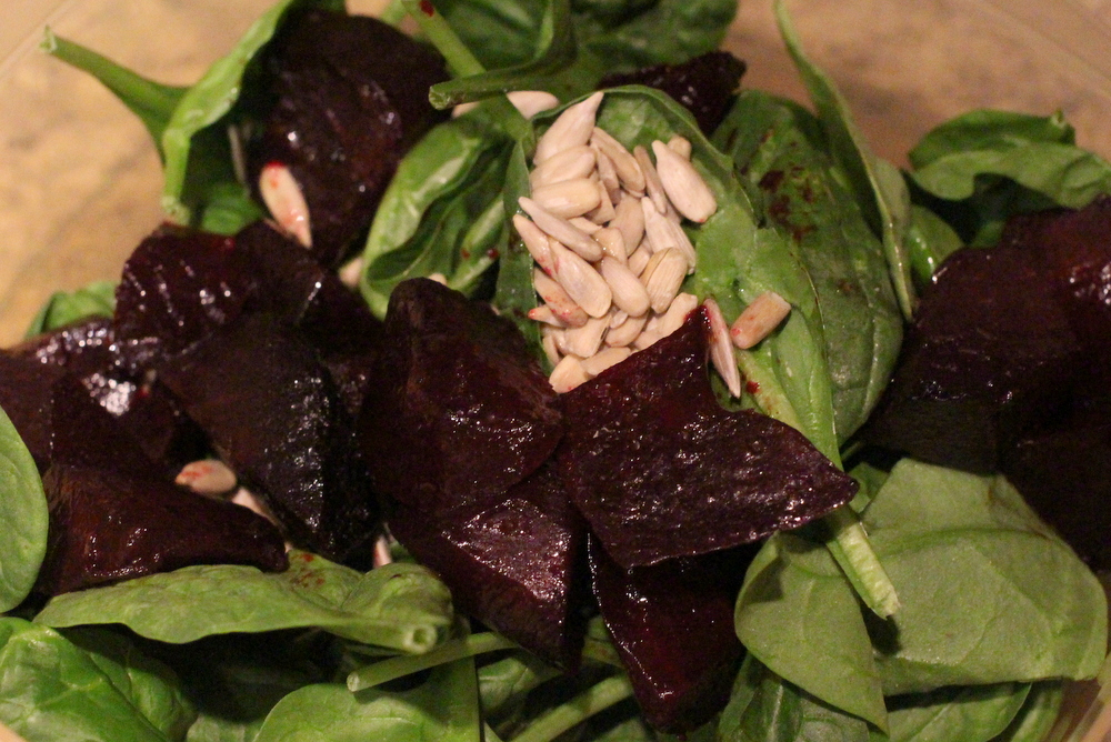 Gluten-Free Recipe Roasted Beet and Goat Cheese Salad Recipe 7