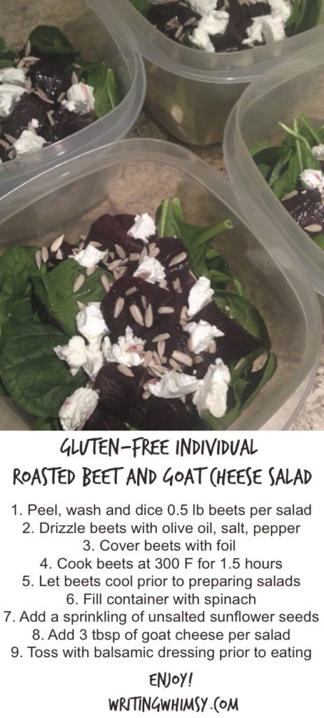 Gluten Free Roasted Beet and Goat Cheese Salad Recipe
