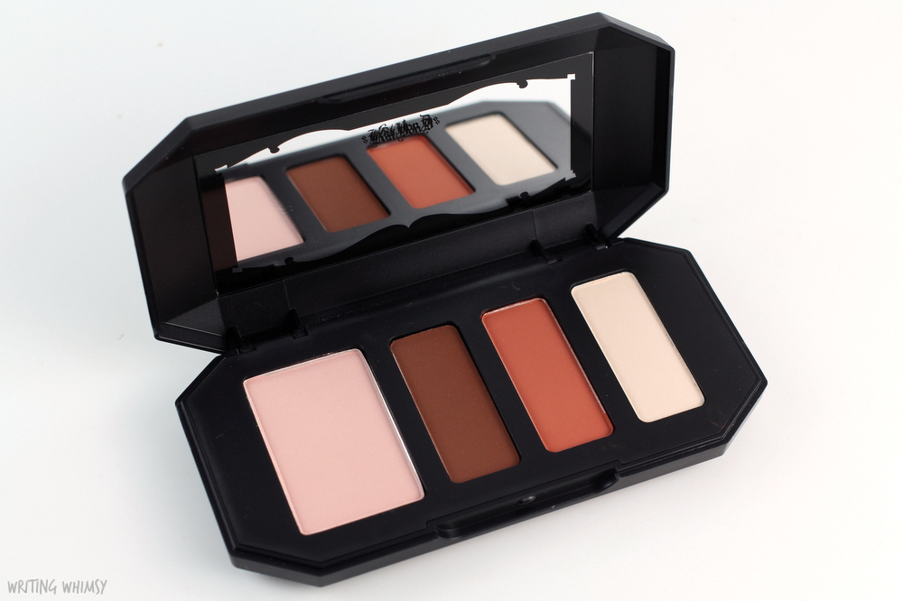 Kat Von D Shade + Light Eye Contour Quad in Rust Review + Swatches 4