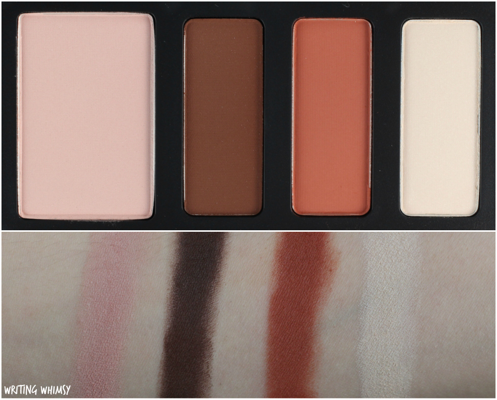 Kat Von D Shade + Light Eye Contour Quad in Rust Review + Swatches