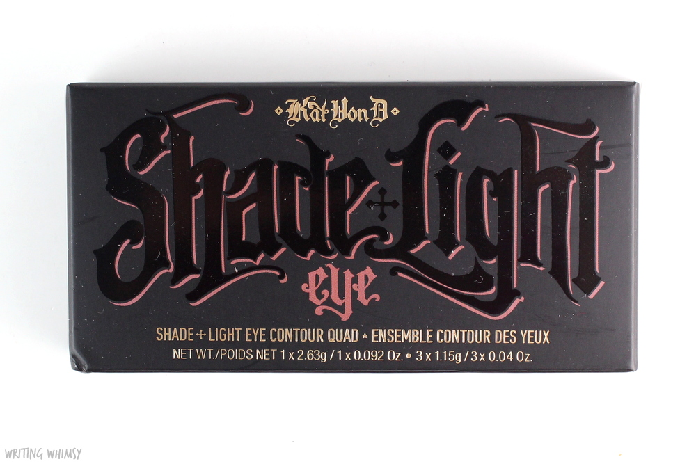 Kat Von D Shade + Light Eye Contour Quad in Rust Swatches 5