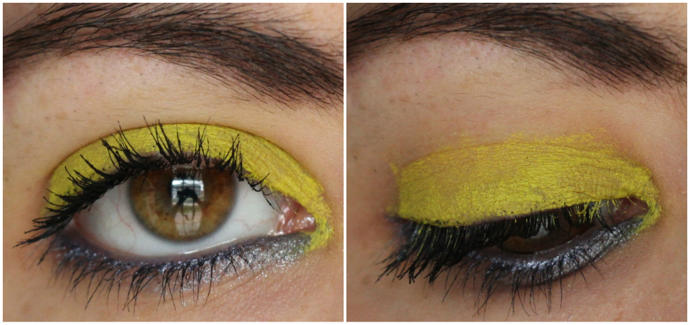 MAC Pro Longwear Waterproof Colour Stick in Iris Eyes and Madly Sunny Review + Swatches 2