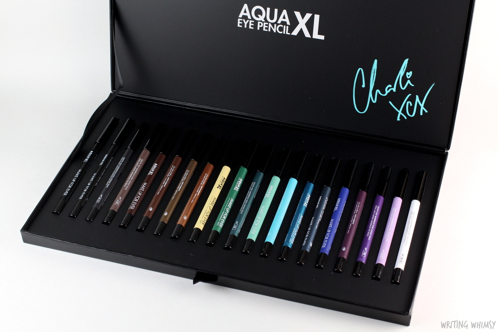 MAKE UP FOR EVER Aqual XL Waterproof Eye Pencils Swatches 3