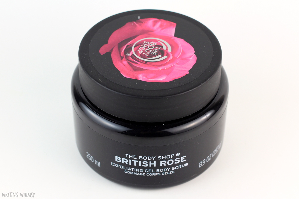 The Body Shop British Rose Exfoliating Gel Body Scrub Review 2