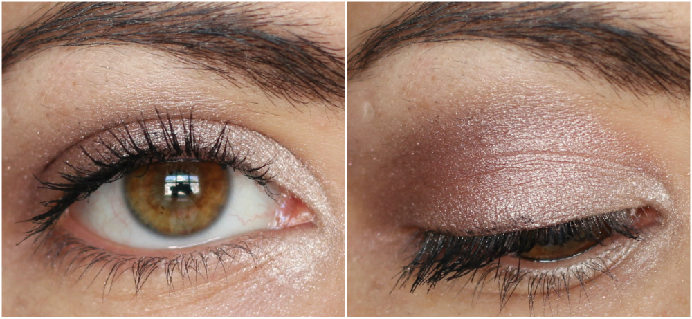 essence cosmetics all about nude eyeshadow palette eye look