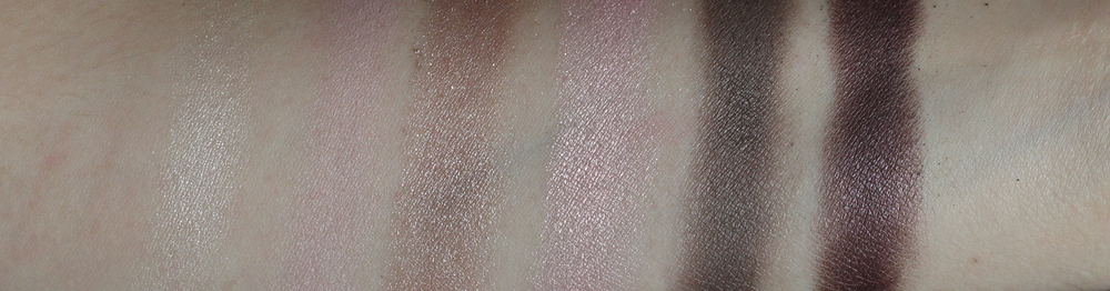 essence cosmetics all about nude eyeshadow palette swatches