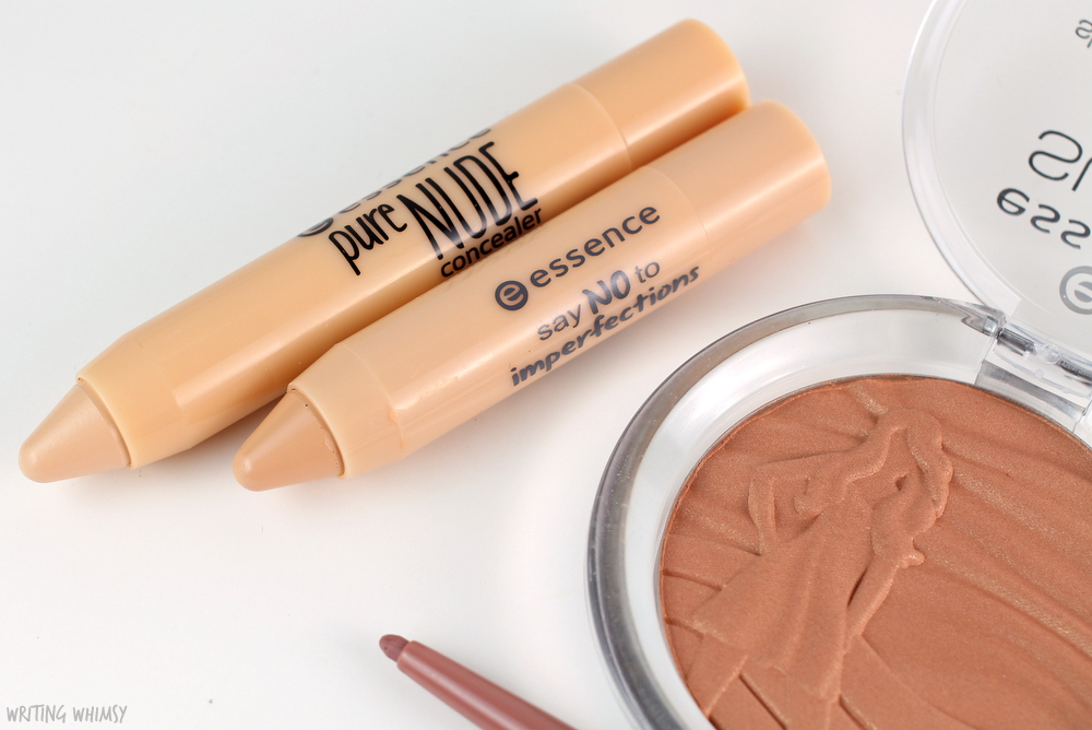 essence pure nude concealer and essence say no to imperfections review