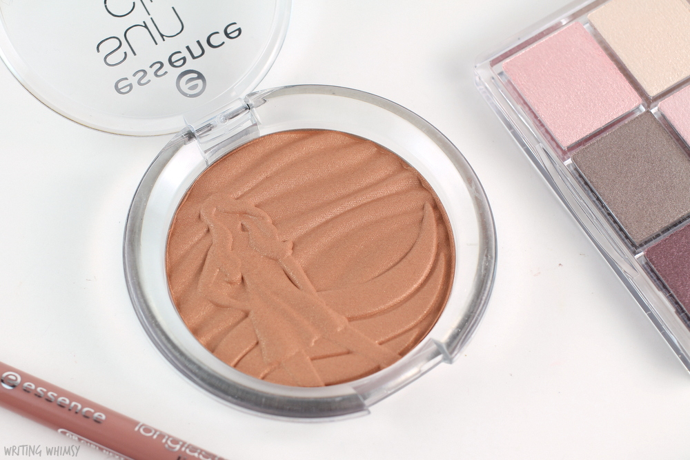 essence sun club shimmer bronzing powder review
