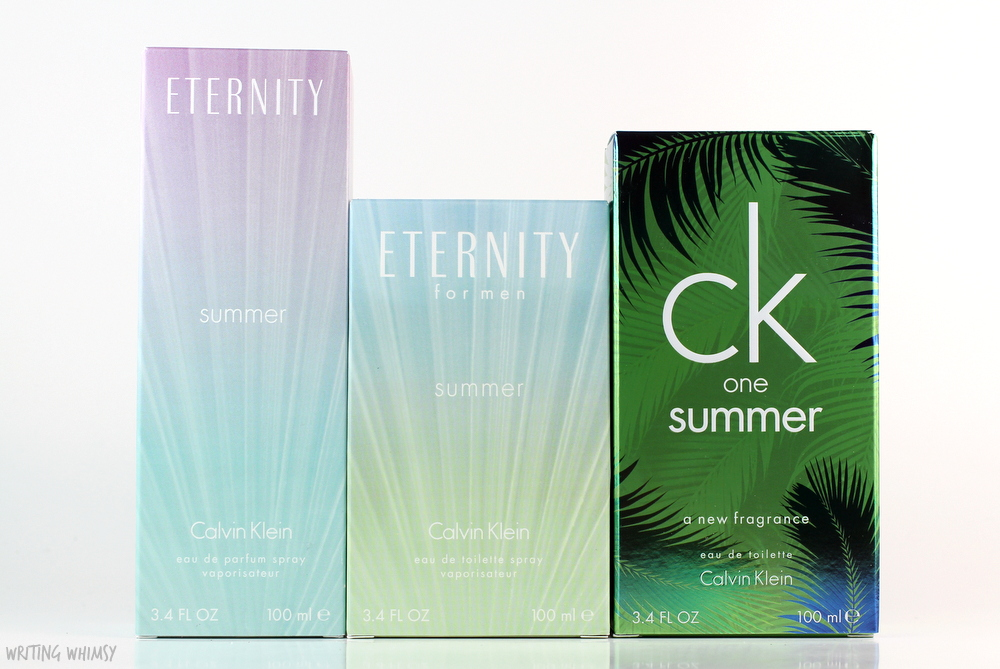 Calvin Klein Eternity Summer 2016 Collection Review