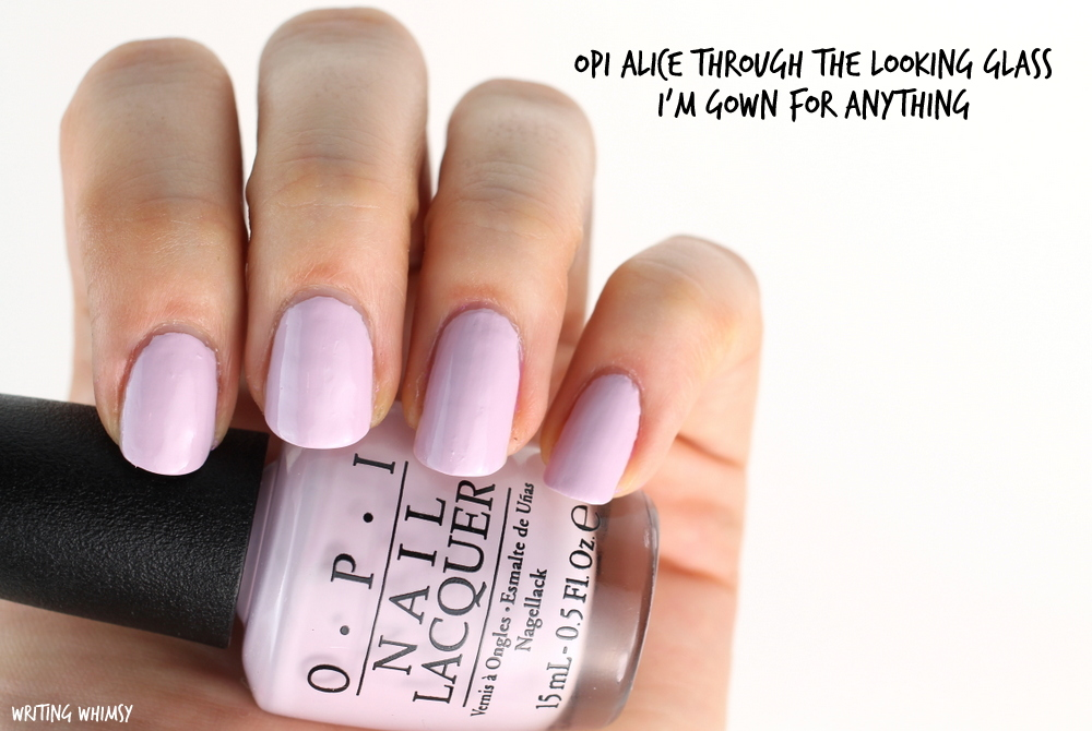 Opi Alice Through The Looking Glass Collection Swatches Review