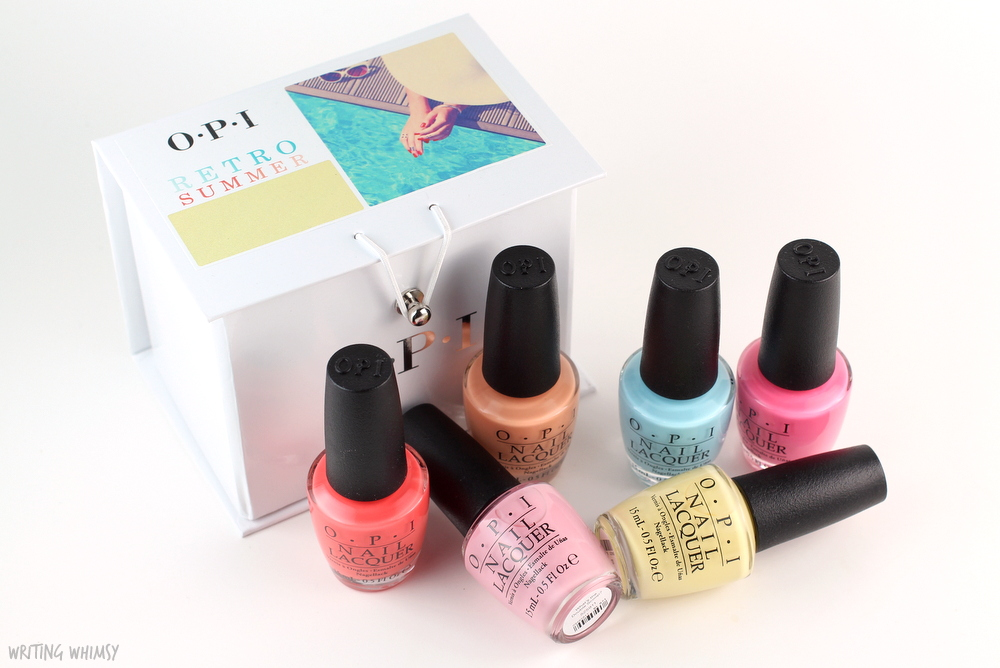 OPI Retro Summer 2016 Collection Swatches + Review