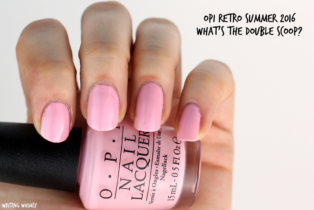 OPI Retro Summer 2016 OPI What's the Double Scoop? Swatch