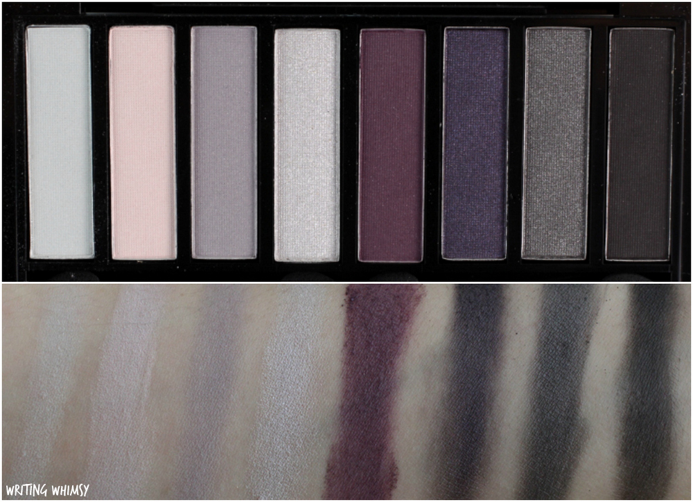 Quo Summer 2016 Collection Quo Eyeshadow Palette in High Tide Swatches