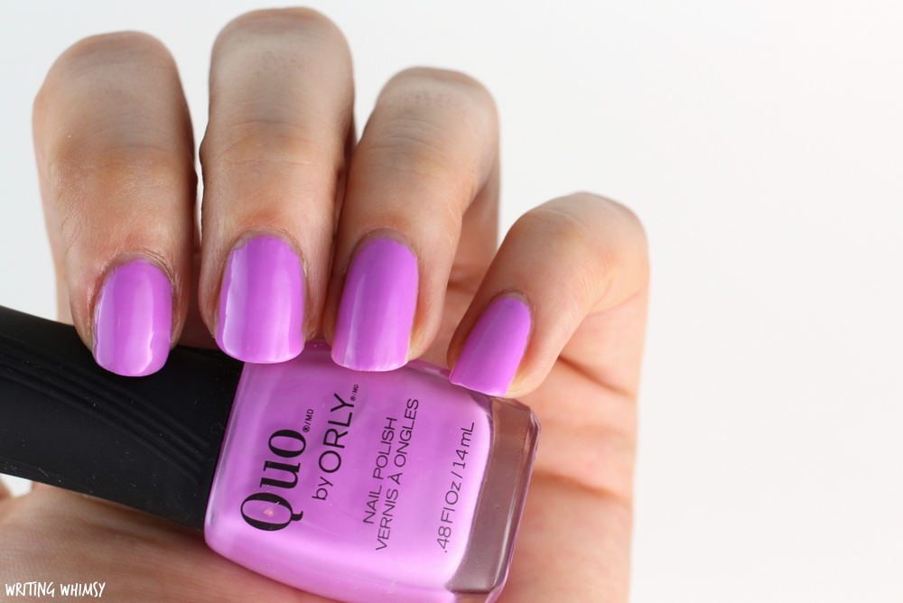 Quo Summer 2016 Collection Quo by Orly in Purple Sunset Swatch