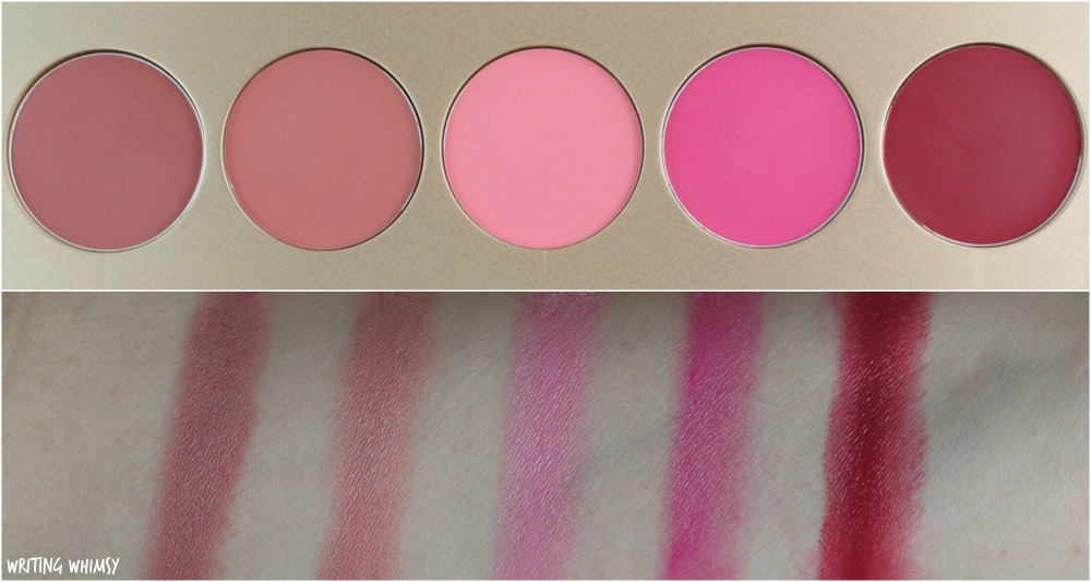 stila Convertible Color Dual Lip & Cheek Palette in Sunrise Splendor Swatches + Review
