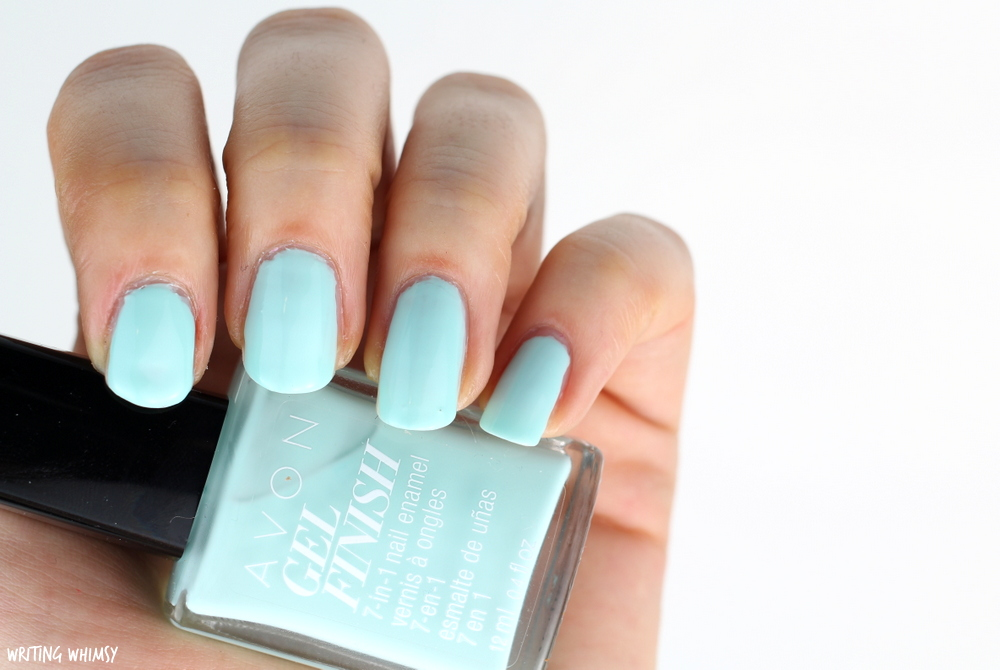 Avon Gel Finish Mint To Be Swatch