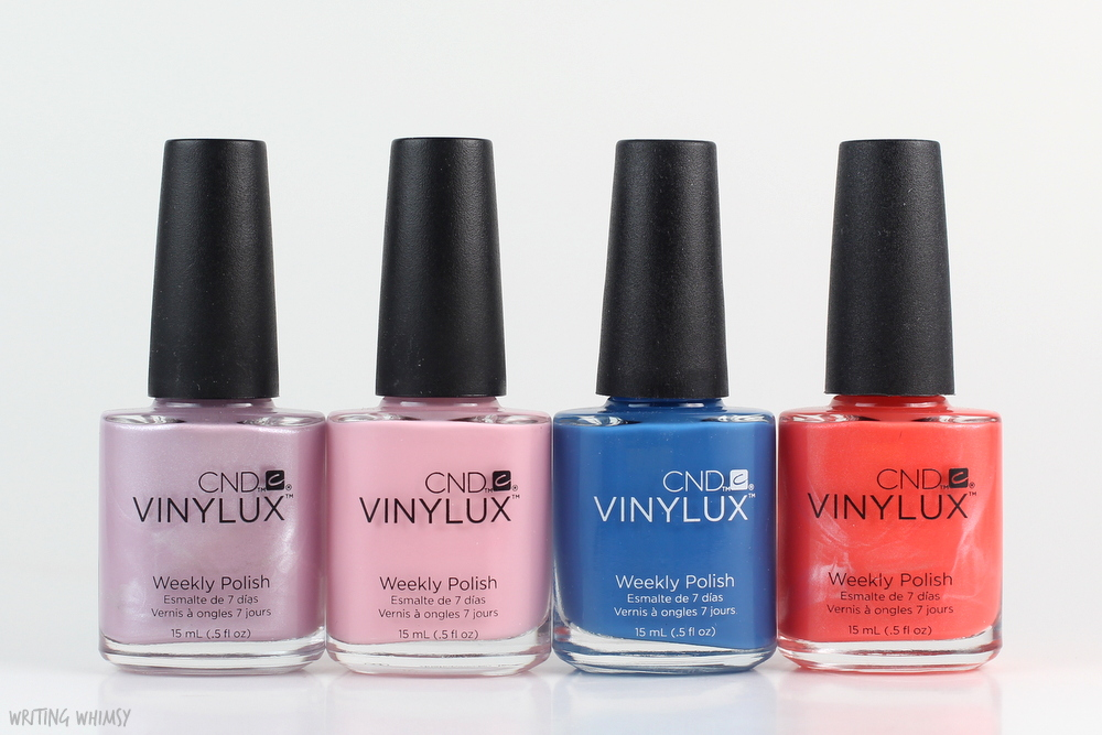 CND Vinylux Flirtation Collection 2016 Swatches