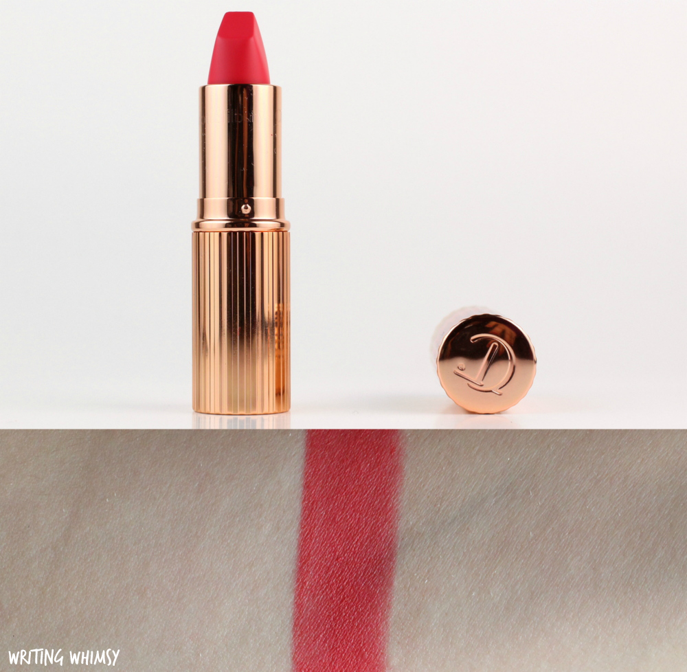 Charlotte Tilbury Matte Revolution Lipstick in Lost Cherry Review + Swatches