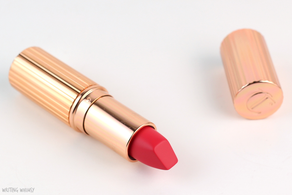 Charlotte Tilbury Matte Revolution Lipstick in Lost Cherry Swatches 2