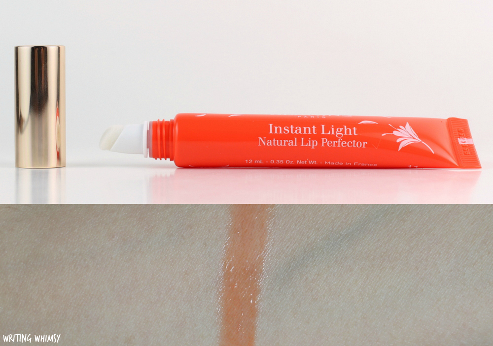 Clarins Instant Light Natural Lip Perfector in 11 Orange Shimmer Review