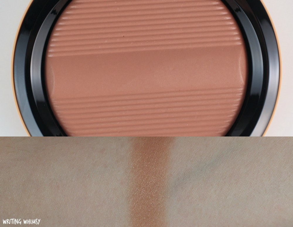 MAC Studio Sculpt Defining Bronzing Powder in Golden Rinse Review 2