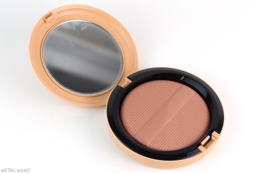 MAC Studio Sculpt Defining Bronzing Powder in Golden Rinse Swatches + Review 2