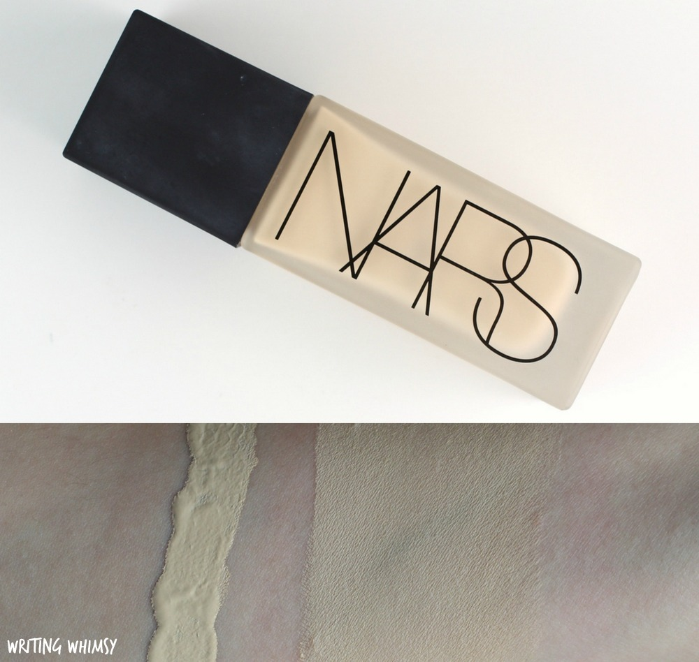NARS All Day Luminous Weightless Foundation in Siberia Light 1 Swatch