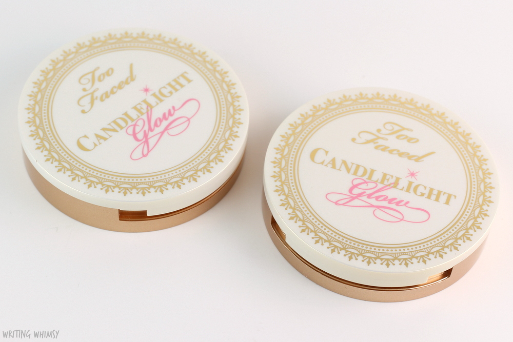 Too Faced Candlelight Glow Highlighting Powder Duo in Rosy Glow Review