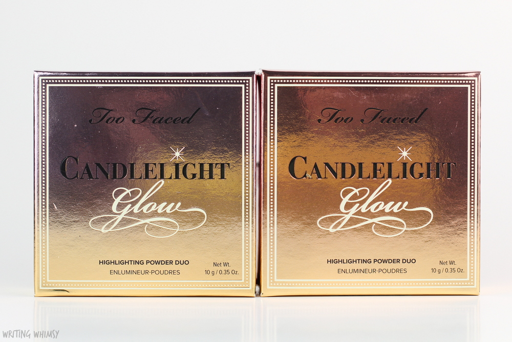 Too Faced Candlelight Glow Highlighting Powder Duo in Warm Glow Review
