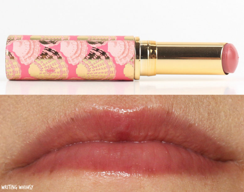 Tarte Rainforest Of The Sea Quench Lip Rescue In Berry And Nude Writing Whimsy