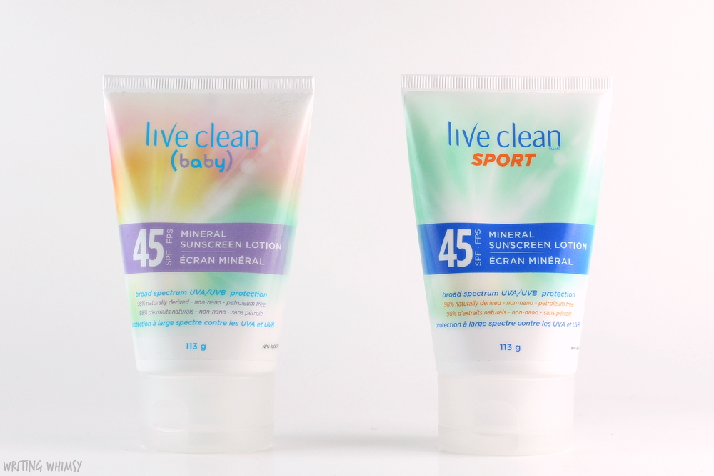 Live Clean Mineral Sunscreen Lotion