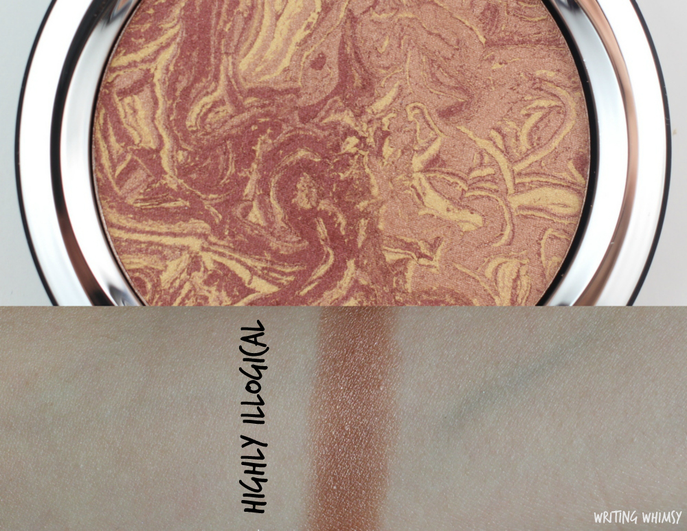 MAC Star Trek Collection MAC Trip The Light Fantastic Powder in Highly Illogical Swatches
