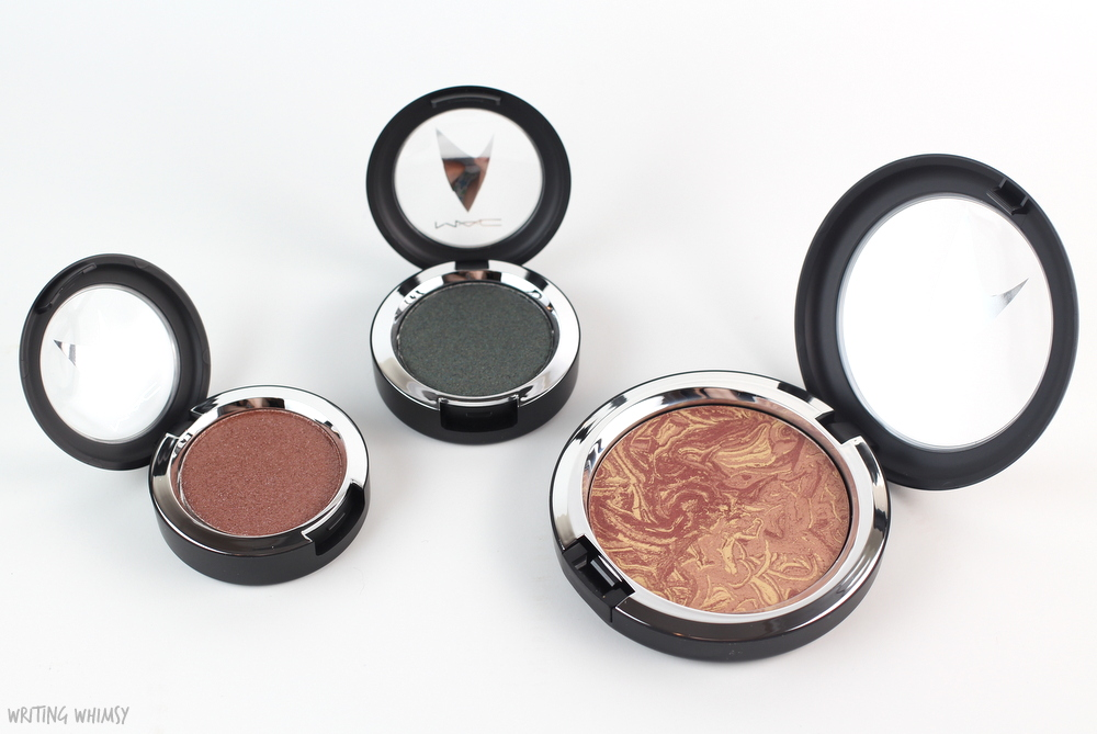 MAC Star Trek Collection Pressed Pigment Eyeshadow in To Boldy Go Swatch