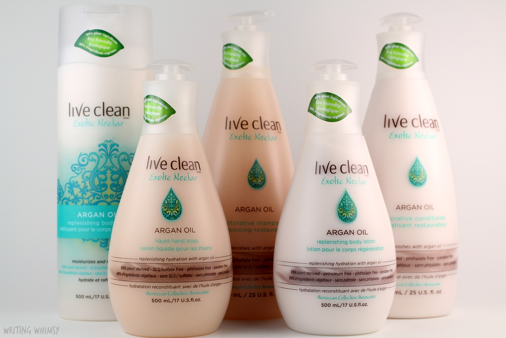 New GIANT Live Clean Exotic Nectar Products + Giveaway! 2