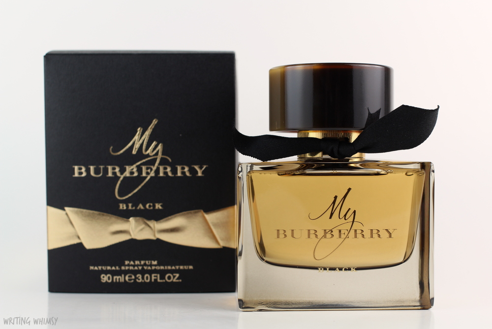 burberry my burberry black parfum writing whimsy. Black Bedroom Furniture Sets. Home Design Ideas